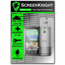 Screenknight Htc One M8 completa cuerpo Protector De Pantalla Invisible Militar Escudo