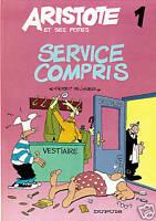 ARISTOTE n°1. Dupuis 1986. E.O. Etat neuf