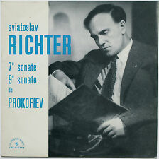 PROKOFIEV Piano Sonata n.7/9 RICHTER Le Chant du Monde LDX-S-8249 French LP