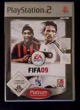 FIFA 09 (Sony PlayStation 2, 2009, Platinium)
