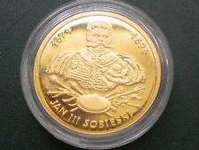 2067. 100 ZL King Jan III Sobieski  2001  Gold