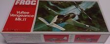 VERY NICE FROG VULTEE VENGEANCE MK.11 1/72 SCALE PLASTIC MODEL AIRPLANE KIT!!