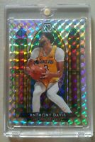 2020 Panini Mosaic Stained Glass Anthony Davis #10 🔥🔥🔥 Los Angeles Lakers