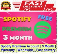 Spotify Premium Account | 3 Month | Warranty | Worldwide | Fast delivery