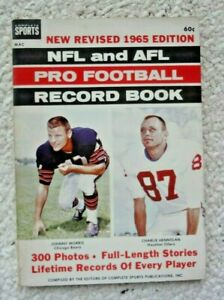 1965 AFL and NFL Pro Football Record Book