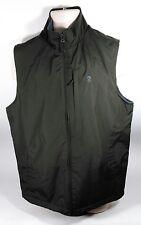 IZOD Green Polar Fleece Lined Multi-Seasonal Men's Sleeveless Vest Size Med