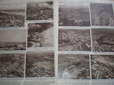 Photo article aerial views Canadian towns British names 1960 ref Av
