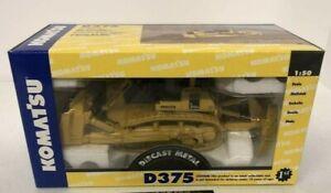 First Gear Die-Cast High Detail Komatsu D375A Crawler Dozer 1/50 MIB MINT