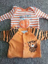 Halloween baby clothes Small Bundle Unisex 2x All In One
