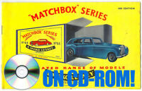 VINTAGE 1960s MATCHBOX LESNEY TOY CATALOGUES ON CD-ROM! 1-75 SERIES KING-SIZE ++