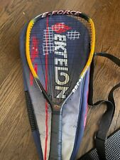 "E-Force Breakout Graphite 22"" Longstring Racketball Racket"