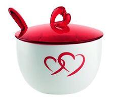 Guzzini 26800065 Love - Zuccheriera con Cucchiaino