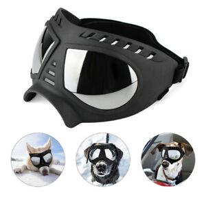 Pet Dog Goggles UV Sunglasses Windproof Snowproof Glasses for Medium Large Breed