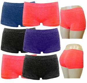 2er Womens Boxer Brief Perfectfit Seamless Sports Functional Underwear Boxer Shorts s300
