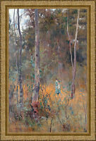 Lost by Frederick McCubbin Framed 85cm x 57.5cm Ornate Gold
