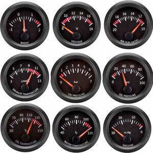 "2""52mm Water Temp/Oil Temp/Oil Press/Fuel/Volts/Air Fuel Ratio/Boost Gauge Meter"