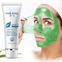 Green Tea Face Mask Remove Acne Blackhead Nose Deep Cleansing Pore