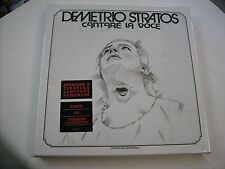 DEMETRIO STRATOS - CANTARE LA VOCE - LTD ED BOXSET LP+CD NUMBERED #0275