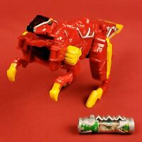 Power Rangers Dino Supercharge Red Raptor Zord Builder and Charger