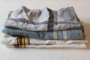 4x Taschentücher DDR Ostalgie Baumwolle Arbeitstaschentuch