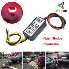 GS-100A Flash Strobe Controller Box Flasher Module Car LED Brake Stop Light Lamp