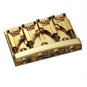 Schaller Bass Bridge Gold - 3D-4 Model - 4 string 12130500