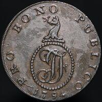 1794 | Haverhill Half-Penny Token | Tokens | KM Coins