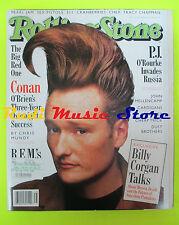 ROLLING STONE USA MAGAZINE 743/1996 Billy Corgan Vic Chesnutt Conan O'Brien Nocd