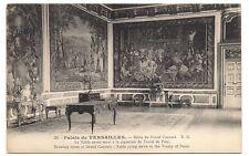 palais de versailles  salon du grand couvert ,table du traité de paix