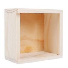Wood Jewellery Storage Box Women Girls Rings Organizer Crafts Gifts Case LD