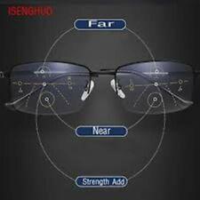 Progressive Multifocal Presbyopia Eyeglasses Blue Light Blocking Reading Glasses