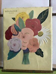 Ancien et rare Flacon de parfum VIOLETTE de Bourjois