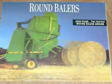 Equipment Brochure - John Deere  Round Balers 335, 375, 385, 435, 535