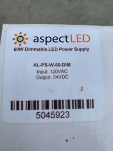 Aspect LED 60w dimmable LED power supply