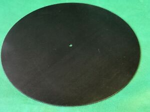 Custom Silicone Rubber Turntable Mat 2mm Thick Black Inc. P & P To Europe Option