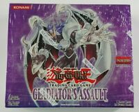 Gladiator's Assault 1st Edition Booster Box English Yugioh - Brand New Sealed