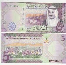 Arabia Saudita Saudi Arabia 5 riyals 2016   FDS  UNC    pick new    ref 2480