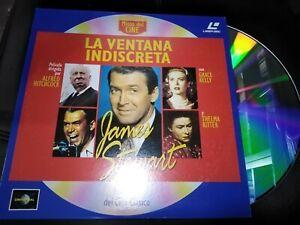 LA VENTANA INDISCRETA JAMES STEWART LASER DISC