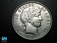1911 P Barber Dime  --  MAKE US AN OFFER!  #K3041