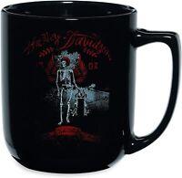 Harley Davidson Skeleton Skull Keramiktasse Tasse Kaffeebecher Becher 96905-16V