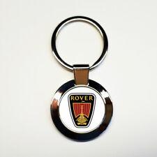 Porte-clés acier inoxydable rond ROVER