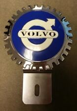 Volvo  Accessory Grille Badge License Plate Topper, New, A Great Gift Item