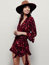 FREE PEOPLE All the Right Ruffles NWOT Jumpsuit Romper APPROX. SIZE M RRP $175