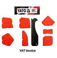 Yato Silicone Sealant Spreader Finishing Tool Applicator Tiling Tool Set Of 8