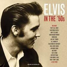 Elvis Presley In The '50s 1950s RED Vinyl Triple LP 180g Record Gatefold Edition