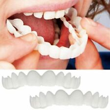 Magic Teeth Brace 2 pcs/set Temporary Smile Comfort Fit Cosmetic Denture Teeth