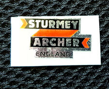 "Raleigh CHOPPER MK1 ""STURMEY ARCHER ENGLAND"" GEAR CONSUL DECAL/STICKER"