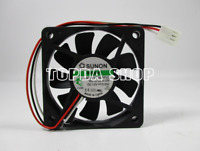 Sunon KDE1206PFV3 Fan 3pin DC12V 0.6W  60*60*10mm
