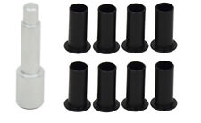 Door Hinge Bushing Pin Liners Delrin for Jeep Wrangler JKU 07-18 4 Door Kentrol
