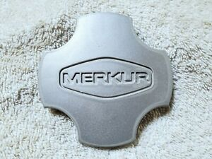 "1985-1989 Merkur Ford Factory Wheel Center Cap 87BB-1000-BA 3.5"" OEM Silver 3D"